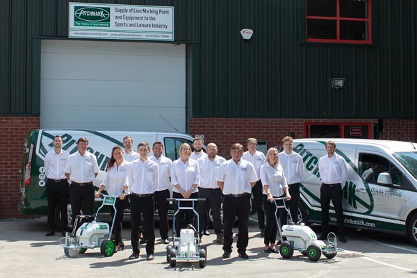 The Pitchmark team at their Bristol headquarters.