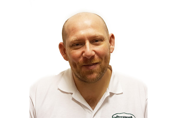 Photo of Stephen Bowes, Technical Sales Manager for Pitchmark.