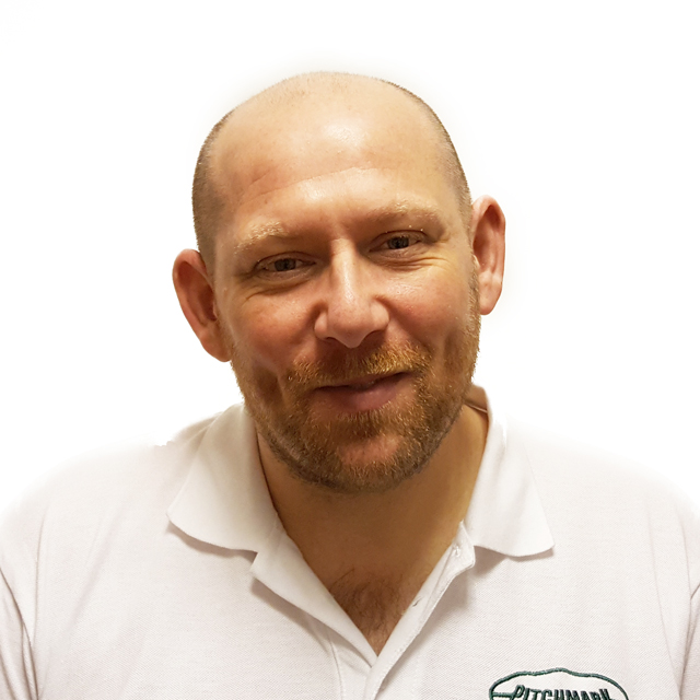 Photo of Stephen Bowes, Technical Sales Manager at Pitchmark.